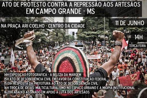 ato de protesto campo grande